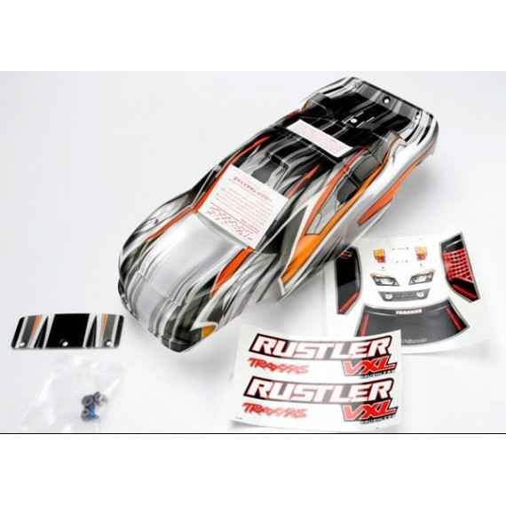 Body Rustler VXL ProGraphix (replacement for the painted body) Pintada