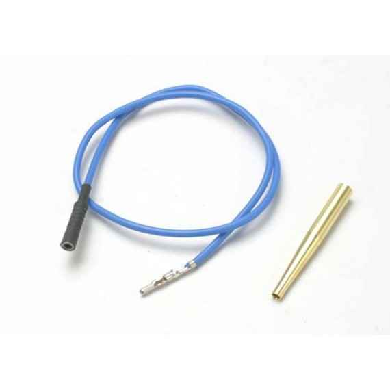 Lead wire glow plug (blue) (EZ-Start and EZ-Start 2)/ molex pin extractor