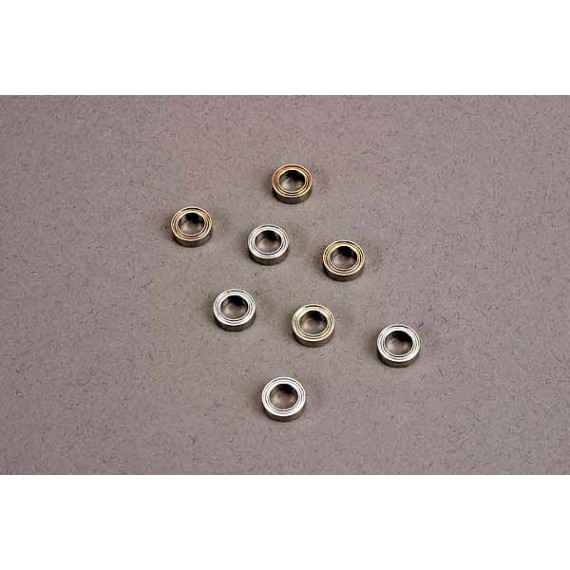 Ball bearings (5x8x2.5mm) (8) (for wheels only)