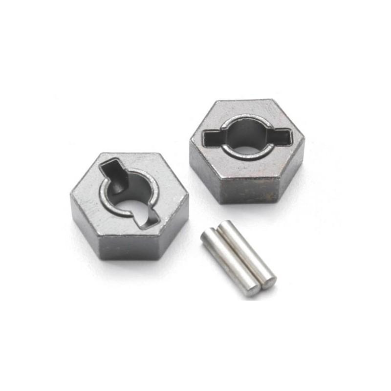 Wheel hubs hex (steel)
