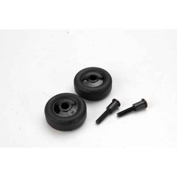 Wheels (4)/ Axles (2) for Maxx wheelie bar