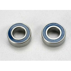 Ball bearings blue rubber sealed (5x10x4mm) (2)