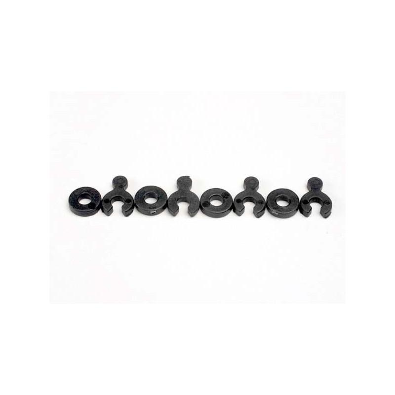 Separadores de ruedas (4) / cuñas (4)