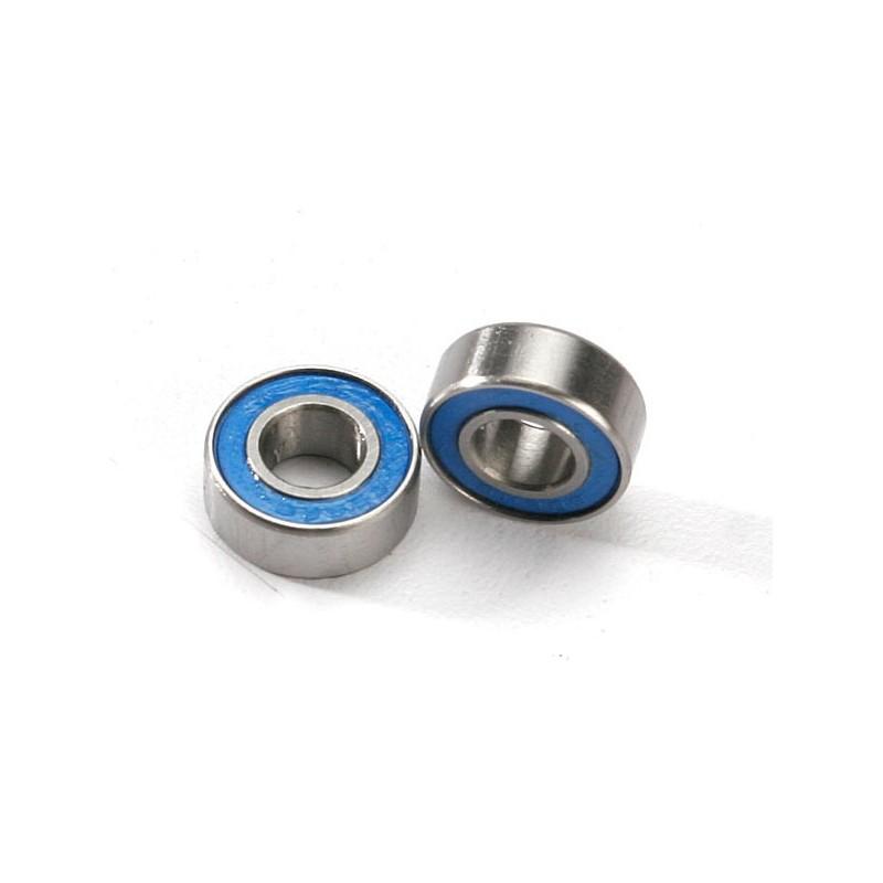 Rodamientos de bolas sellados con goma azul (6x13x5mm) (2pcs)