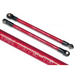 Push rod (aluminum) (assembled with rod ends) (2) (red) (use