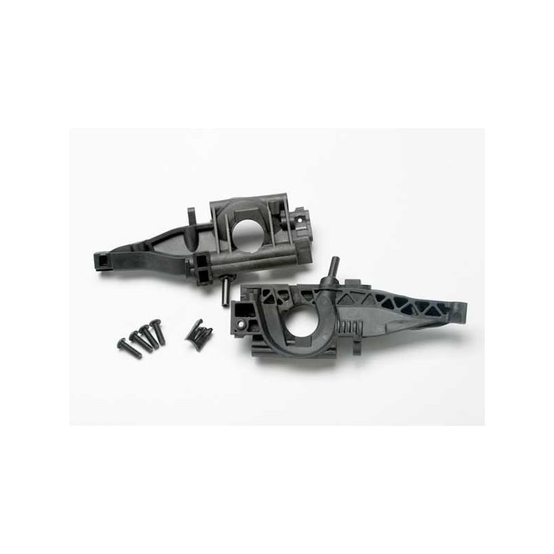 Mamparo trasero (mitades L & R) / retenedor de diferencial trasero / 4x14mm BCS