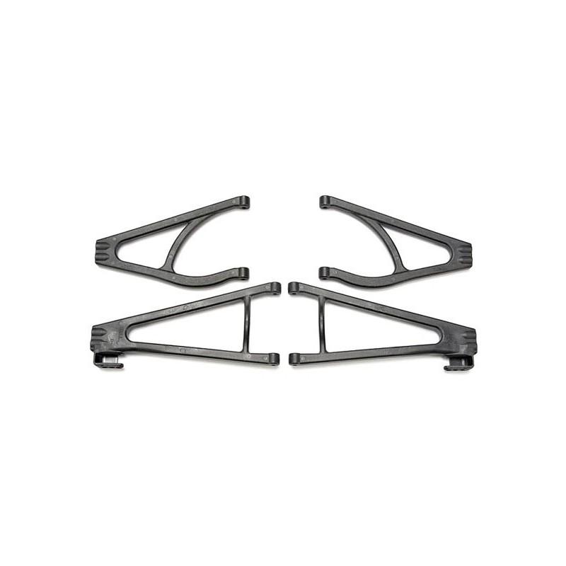 Suspension arm set adjustable wheelbase (lengthens wheelbas