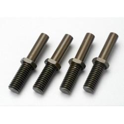 Poste de balancín (aluminio) (4pcs)