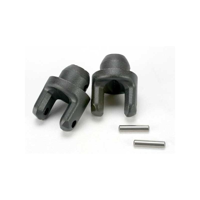 Yokes stub axle (2)/ pins (2)