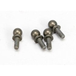 Ball studs aluminum hard-anodized Teflon-coated (4) (use