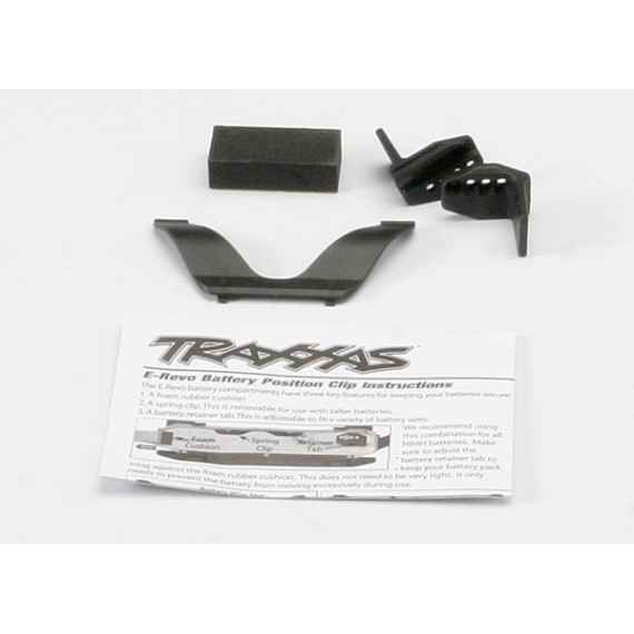 Retainer clip battery (1)/ front clip (1) /rear clip (1)/ f
