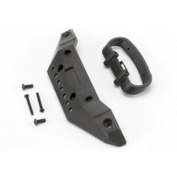 Bumper front/ bumper mount front/ 4x10mm BCS (2)/ 3x25mm B