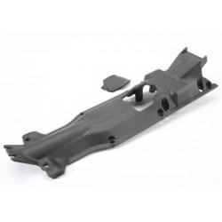 Skidplate transmission nylon (black)/ cover