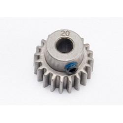 Piñón 20-T Dientes (paso 32p. 0.8 metrico) para eje de 5mm. con tornillo de ajuste