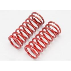 Spring shock (red) (long) (GTR) (5.4 rate double orange stripe)(1 pair)