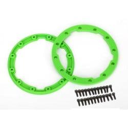 Sidewall protector beadlock style (green) (2)/ 2.5x8mm CS (