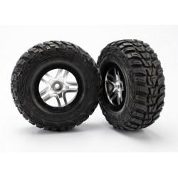Ruedas completas, ensambladas,(ultra soft S1) (2WD delanteras) (2pcs)