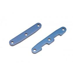 Barras de unión de mamparo, delantero y trasero, aluminio (anodizado azul)