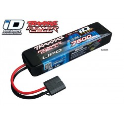 Power Cell LiPo 7600mAh 7.4V 2S 25C Summit E-Revo Slas ID