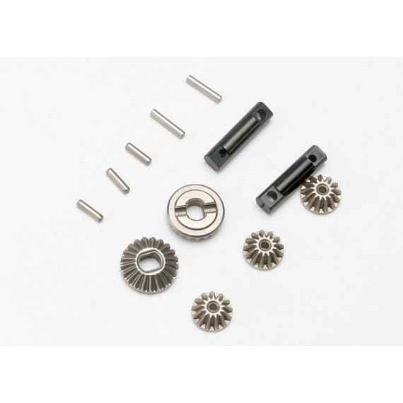 Gear set differential (output gears (2)/ spider gears (3))/