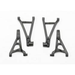 Suspension arm set front (includes upper right & left and lower right & left arms)