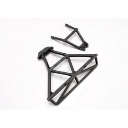 Bumper rear/ bumper mount rear (black)