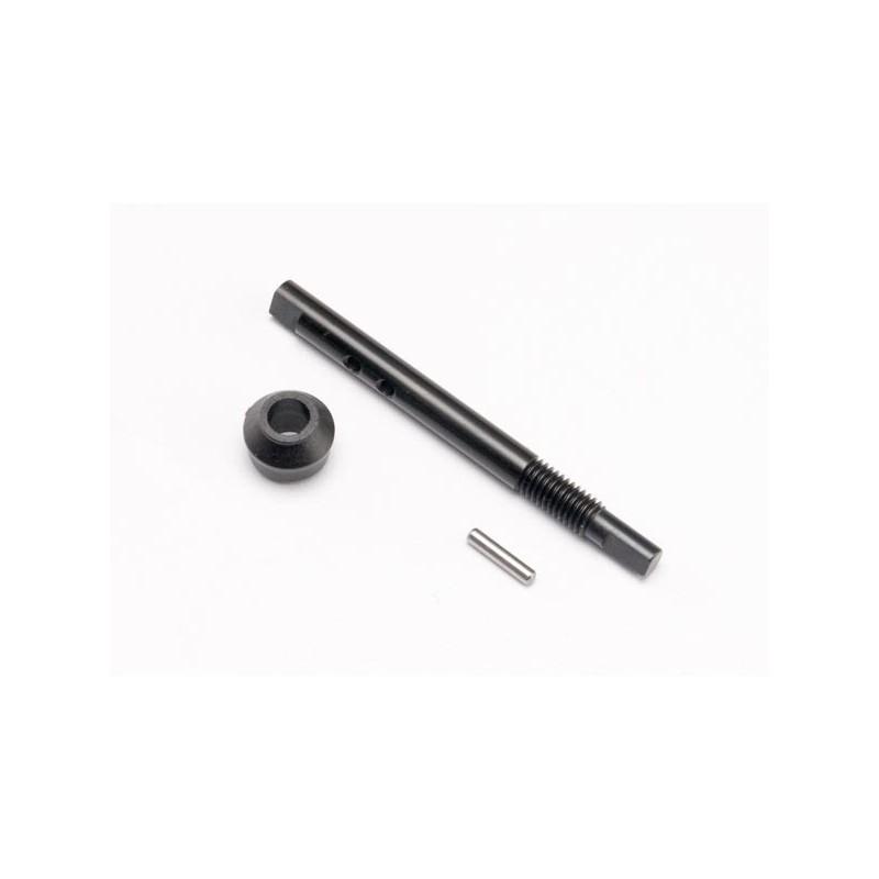 Input shaft (slipper shaft)/ bearing adapter (1)/pin (1)