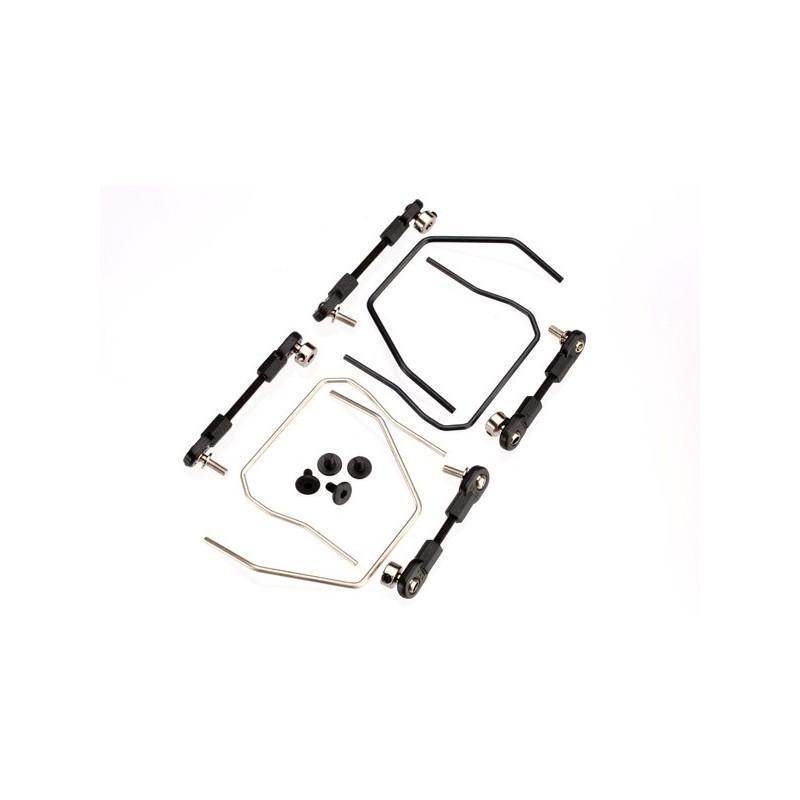 Kit de barra estabilizadora (delantera y trasera) (incluye barras estabilizadoras delantera y trasera y varillaje ajustable)