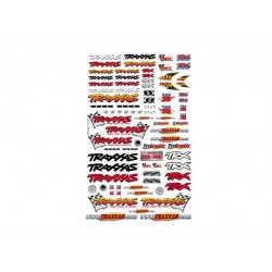 Official Team Traxxas racing decal set (flag logo/ 6-color)
