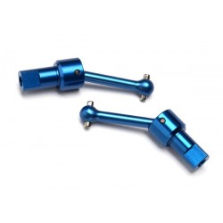 Driveshaft assembly F & R Aluminum (blue anodized)
