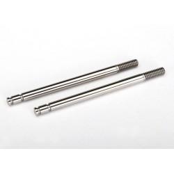 Shock shafts steel Chrome finish
