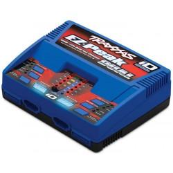 Cargador Traxxas doble EZ-Peak Plus 100W Dual LiPo/NiMH con iD EU trx2972G