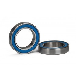 Ball bearing blue rubber sealed (15x24x5mm) (2) (X-MAXX)