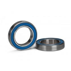 Rodamientos de bolas (15x24x5mm) sellados con goma azul (2pcs) (X-MAXX)