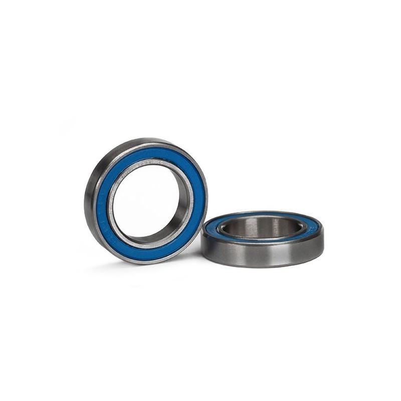 Rodamientos de bolas sellados con goma azul (15x24x5mm) (2pcs) (X-MAXX)