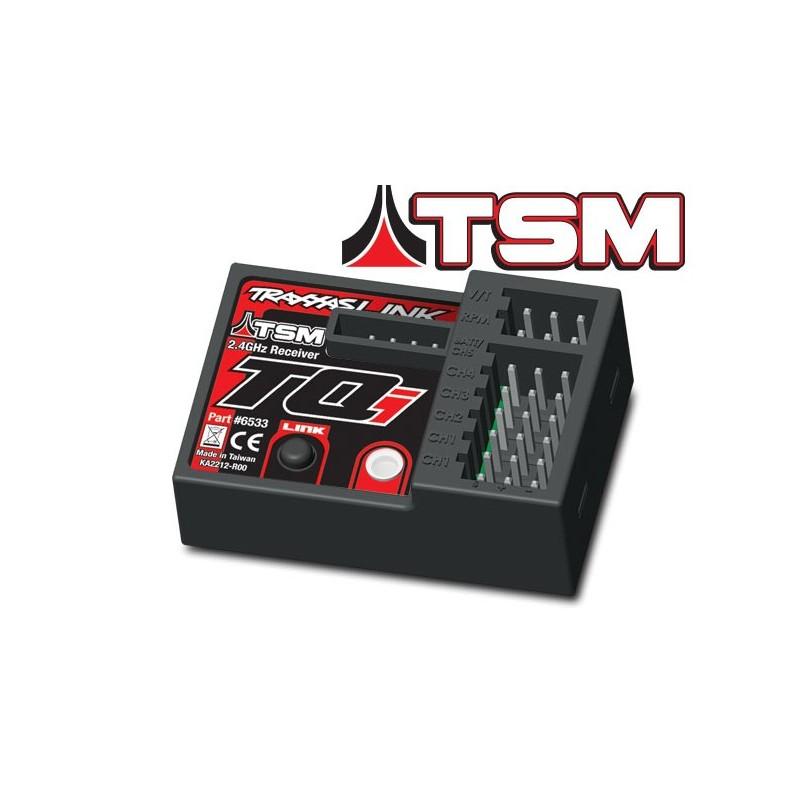 Receptor TQi 2.4GHz con telemetria y TSM (5 canales)