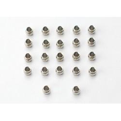 Bolas huecas de acero, mecanizadas (22pcs)