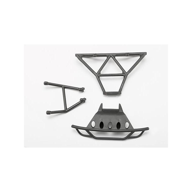Bumpers front (1)/ rear (1)/ 2.5x14mm CS(2) (1/16 Slash)