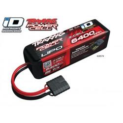 Bateria Traxxas 6400mAh 11.1V 3S 25C Conector ID