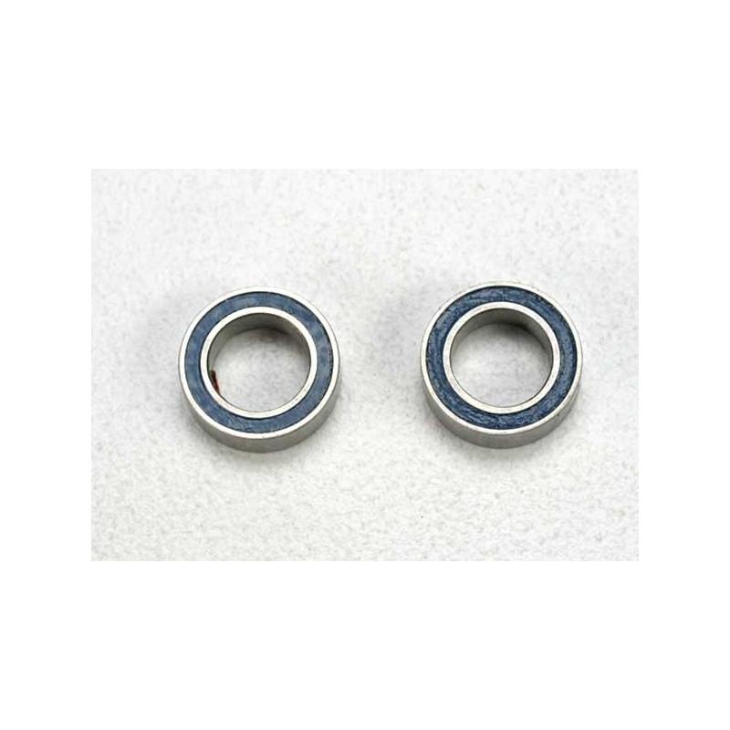 Rodamientos de bolas sellados con caucho azul (5x8x2.5mm) (2pcs)