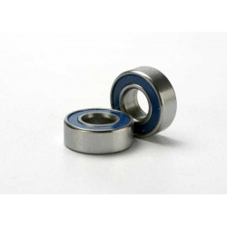 Ball bearings blue rubber sealed (5x11x4mm) (2)
