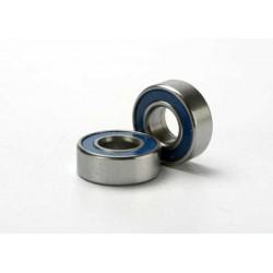 Rodamientos de bolas (5x11x4mm) sellados con caucho azul (2pcs)