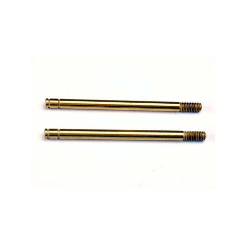 Ejes de choque, acero endurecido, recubierto de nitruro de titanio (largo) (2)