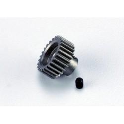 Piñón 26-T Dientes (paso 48p.) para eje de 3mm. con tornillo de ajuste ( Bandit Stampede Slash1/16)