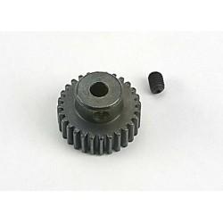 Piñón 28-T Dientes (paso 48p.) para eje de 3mm. con tornillo de ajuste (Bandit Stampede Slash1/16)