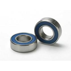 Rodamientos de bolas (8x16x5mm) sellados con goma azul (2pcs)