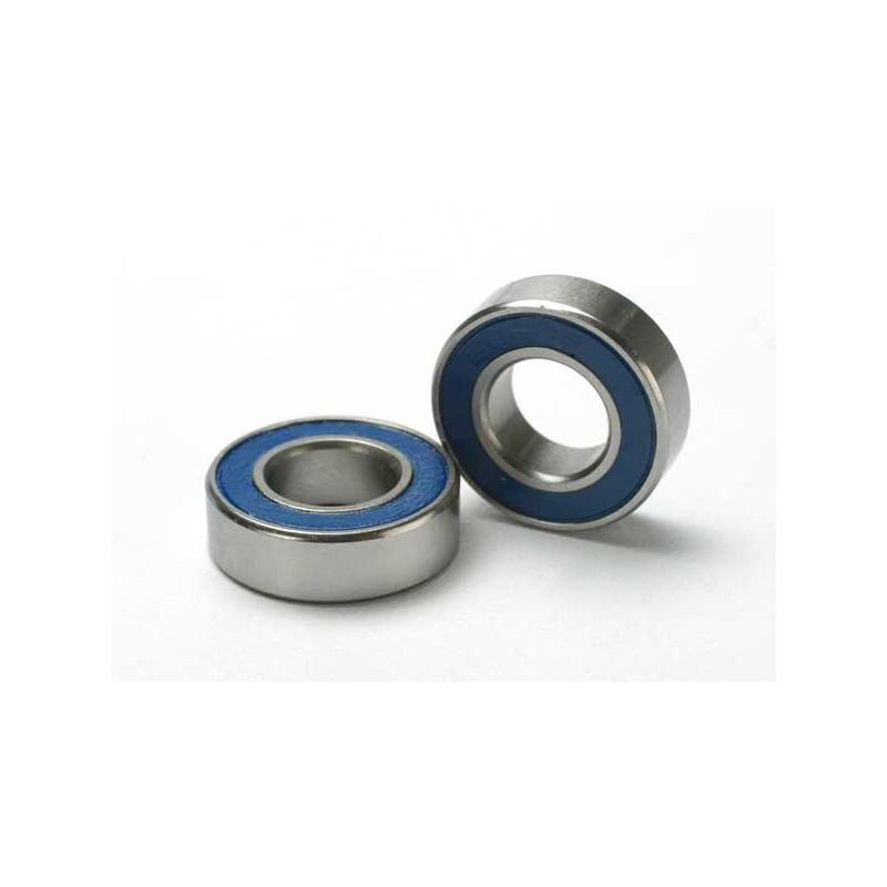 Rodamientos de bolas sellados con goma azul (8x16x5mm) (2)