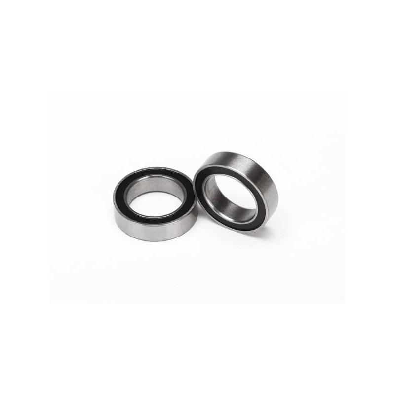 Rodamientos de bolas negro (10X15X4) (2pcs)