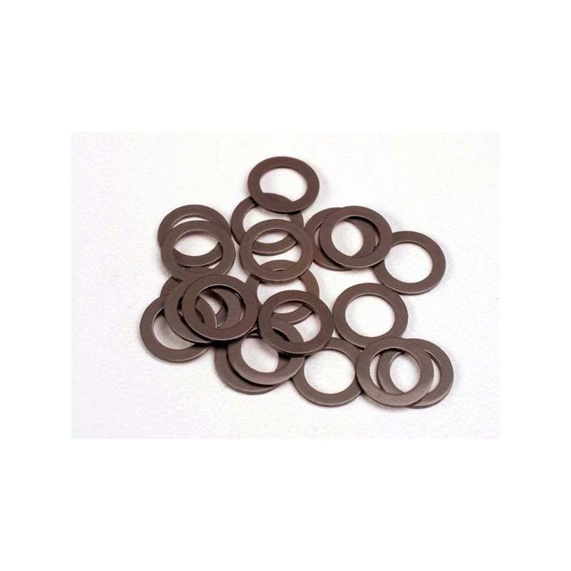 Arandelas de teflón 5x8x0.5 mm (20) (usar con rodamientos de bolas)