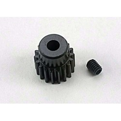 Gear 18-T pinion (48-pitch) / set screw( Bandit Stampede Slash1/16)